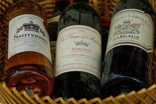Vin de France Bordeaux Médoc et Sauternes