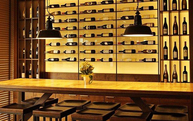 Bouteilles de vin de Provence