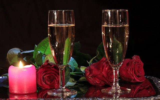 Champagne blanc ou champagne rosé