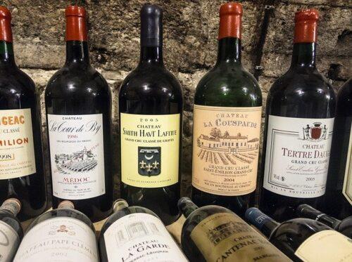 Vin Bordeaux millésime