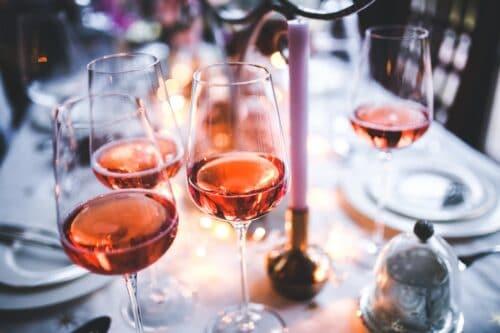 dégustation vin rosé