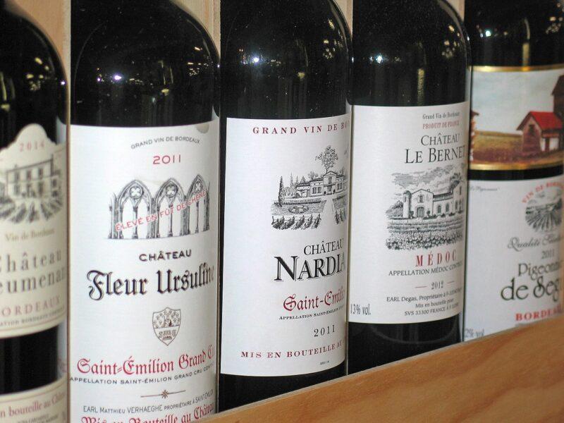 vin rouge st emilion
