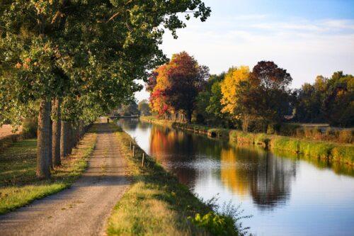 La route des vins de Bourgogne à vélo